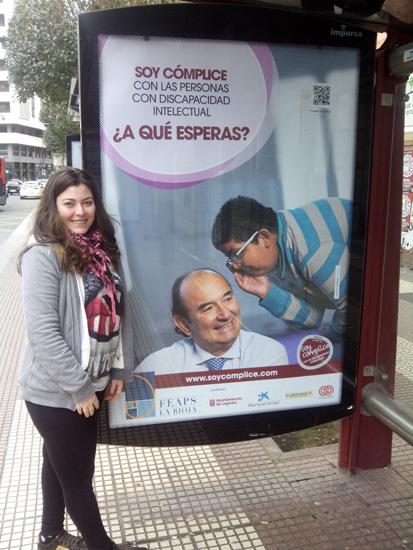 Marquesinas 001 - Soy Cómplice | FEAPS La Rioja