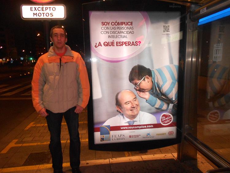 Marquesinas 003 - Soy Cómplice   FEAPS La Rioja