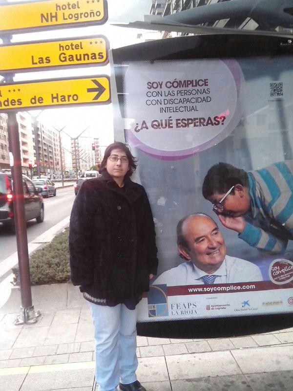 Marquesinas 007 - Soy Cómplice   FEAPS La Rioja