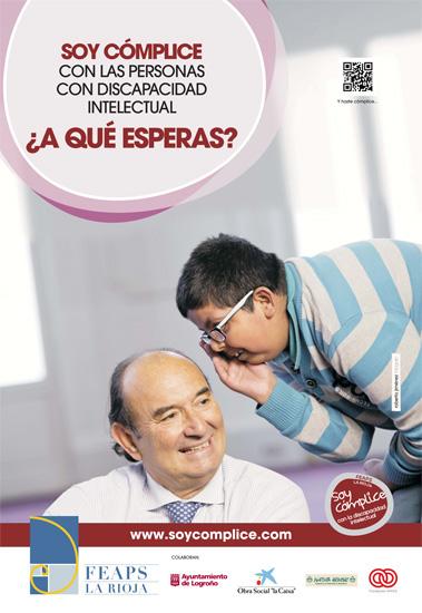Cartel - Soy Cómplice | FEAPS La Rioja