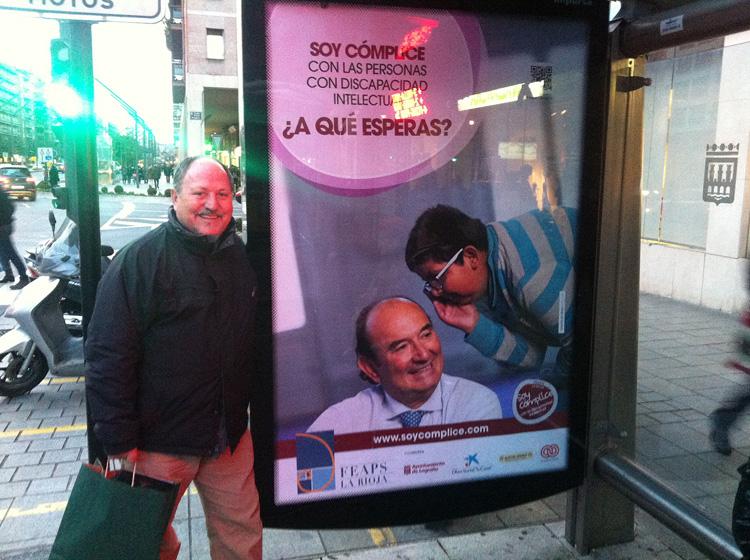 Marquesinas 008 - Soy Cómplice | FEAPS La Rioja